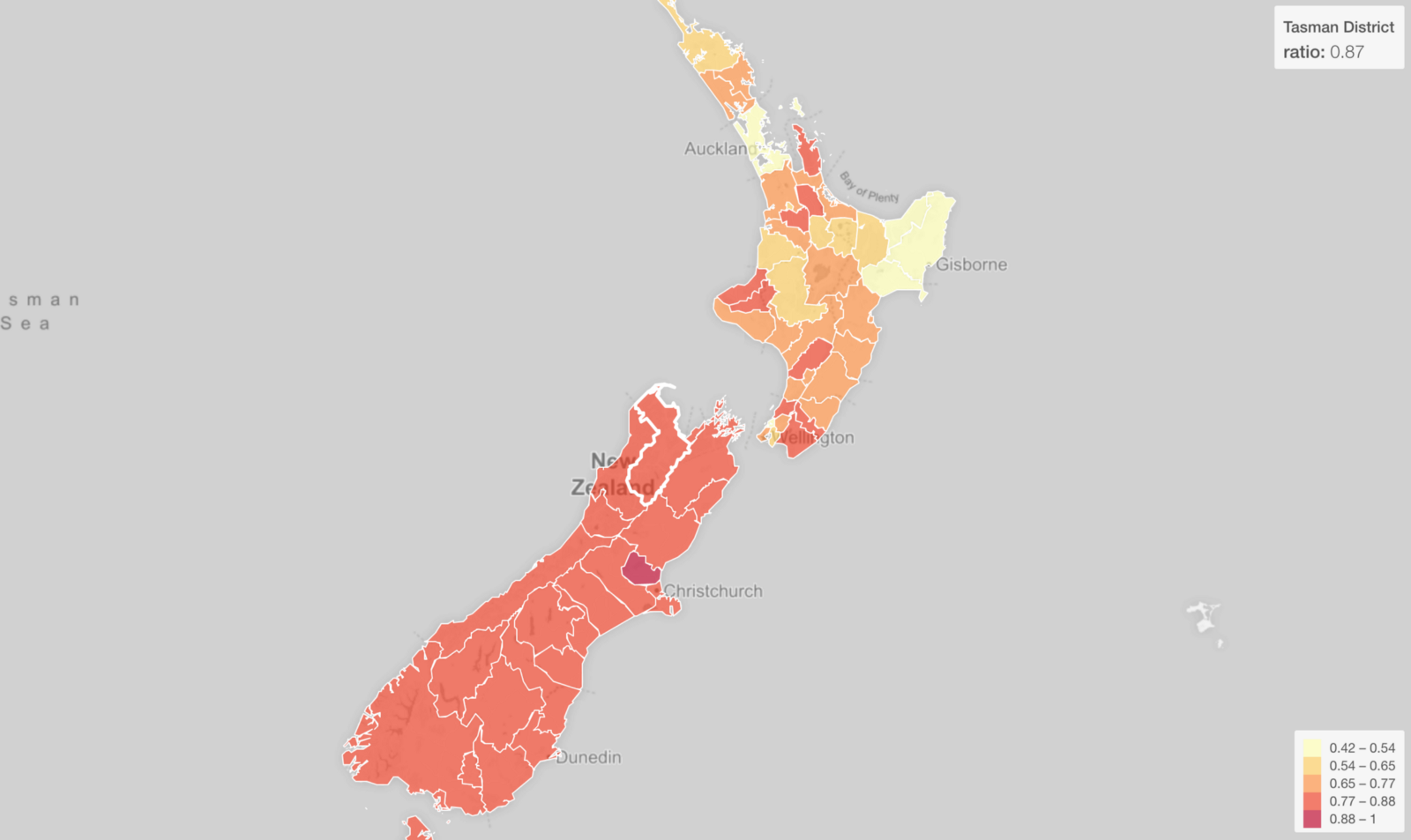 Where Is Christchurch New Zealand On The Map.Making Maps For New Zealand Regions And Territories In R