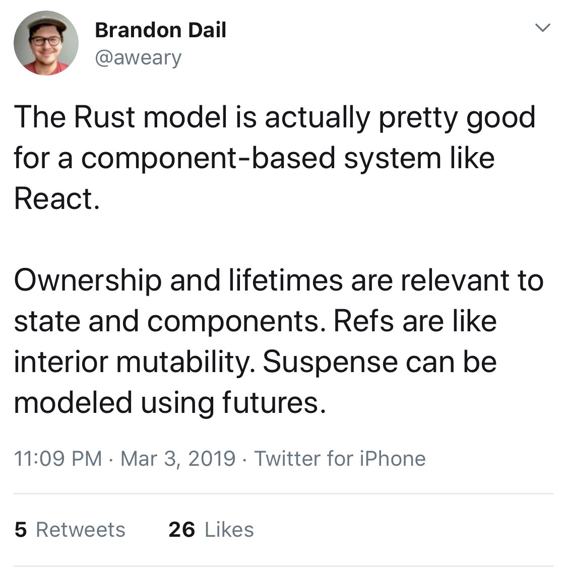 Moving from NodeJS to Rust in 2019