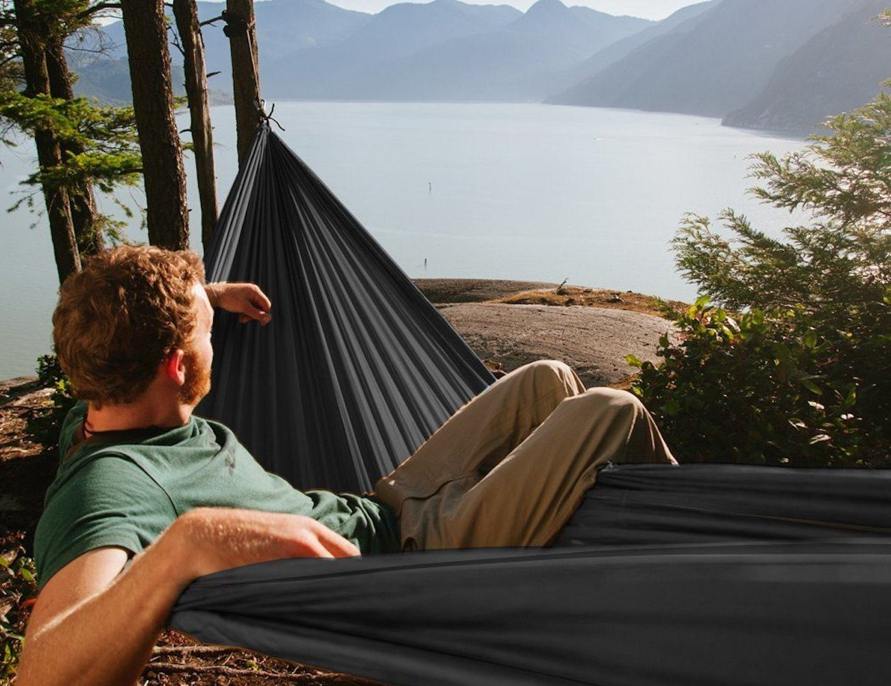 Portable Parachute Fabric Camping Hammock By OuterEQ
