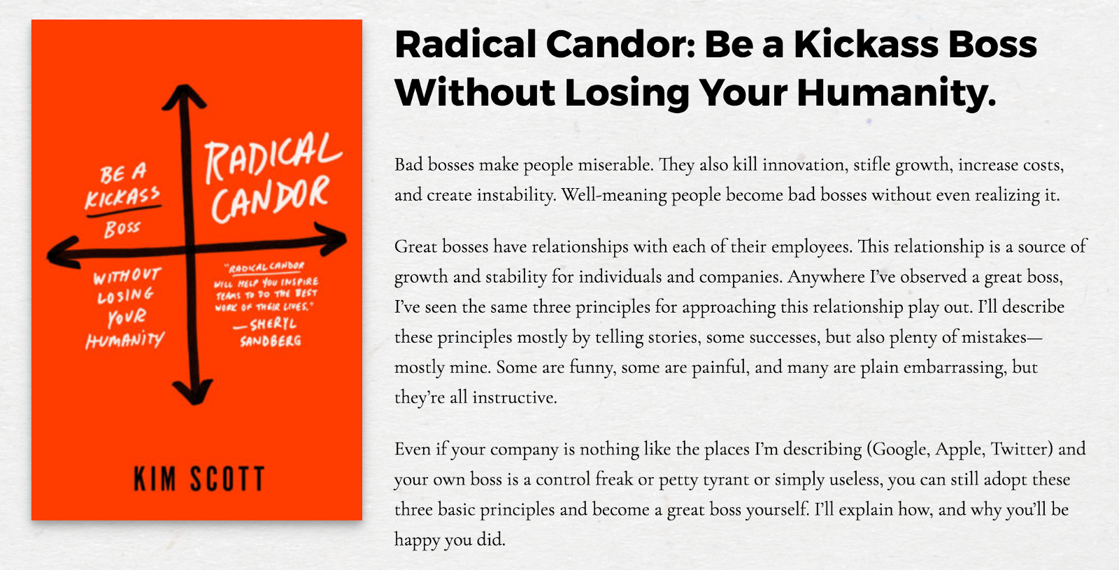 4 ways i celebrated womens history month this year i heard kim speak about a year ago about the concept of radical candor and i have been anticipating the release ever since last weekend i was so excited solutioingenieria Images