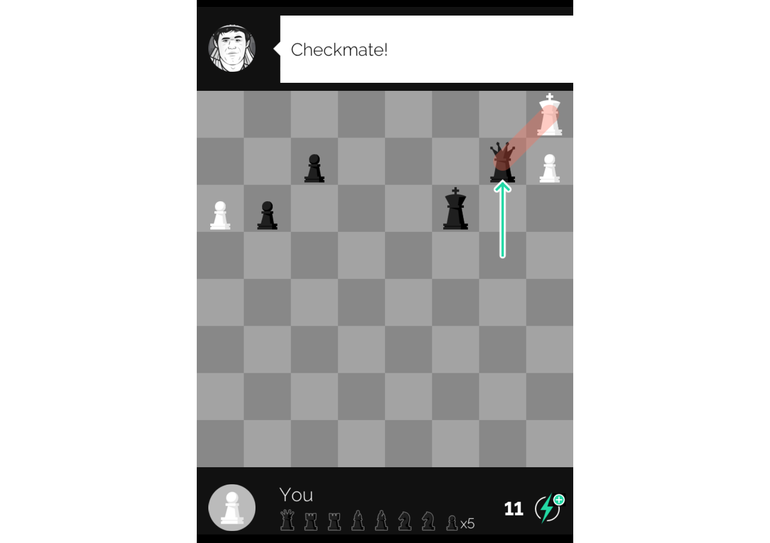 My Month Long Quest To Become A Chess Master From Scratch Four Move Checkmate Diagram