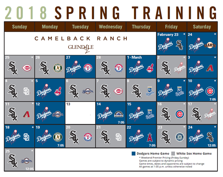 2d0c356c9c6 2018 Spring Training single-game tickets on sale Friday