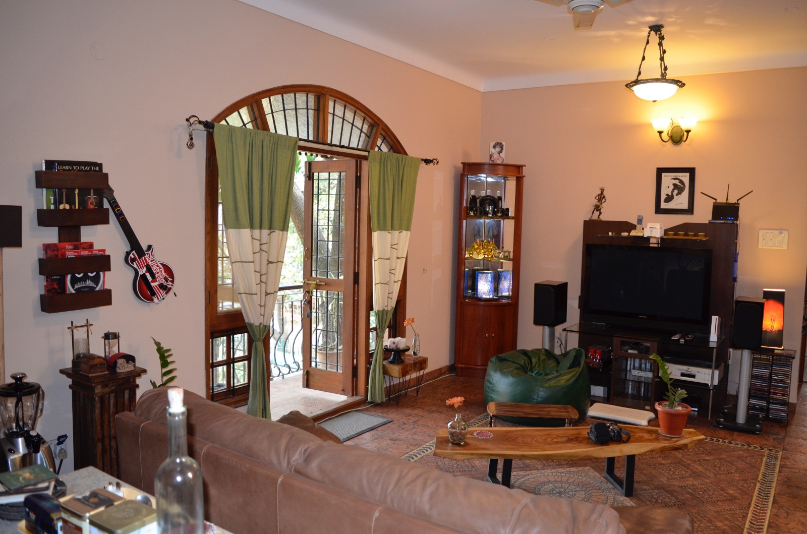A Beautiful Lounge That You Walk Into From Your Room In This Co Living Space Bangalore