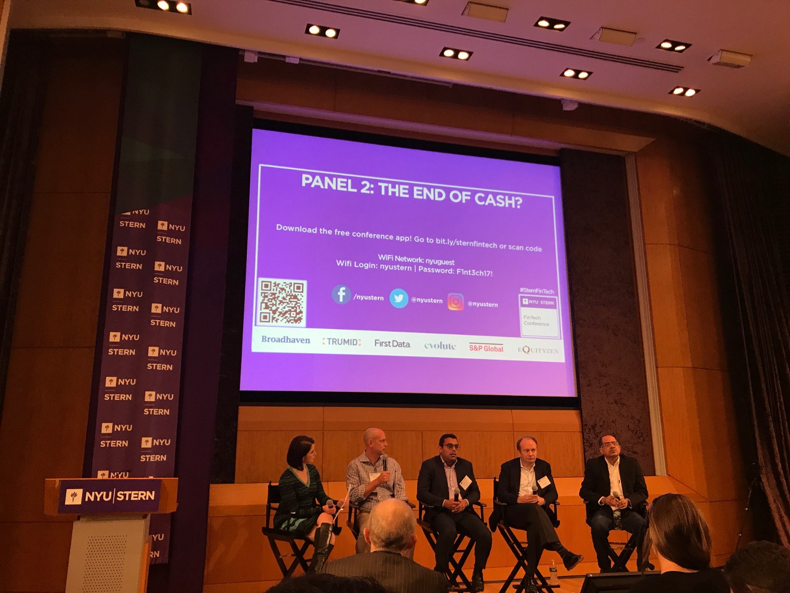 Our top takeaways from nyu sterns fintech conference 2017 physical cash or plastic credit cards will be here for a good number of years prashant gandhi managing director and head of digital payments jpmorgan reheart Images