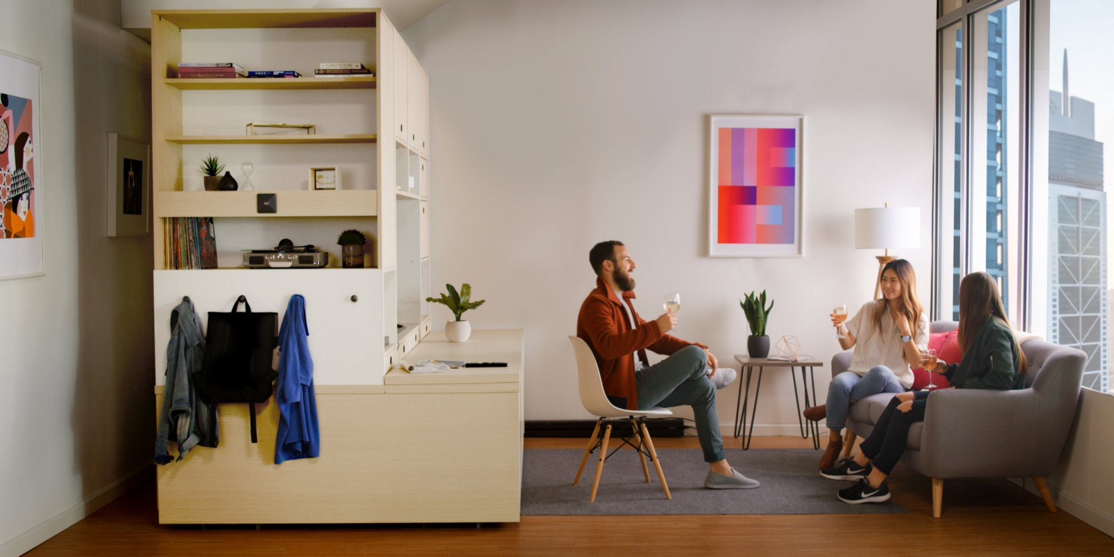 Ori Systems Robotic Furniture Transforms Your Apartment