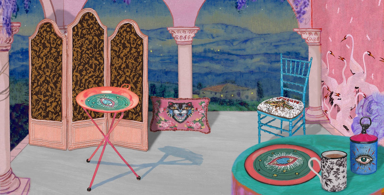 SummerLabelSpotlights Guccis Home Decor Line Is Not For The Faint Hearted