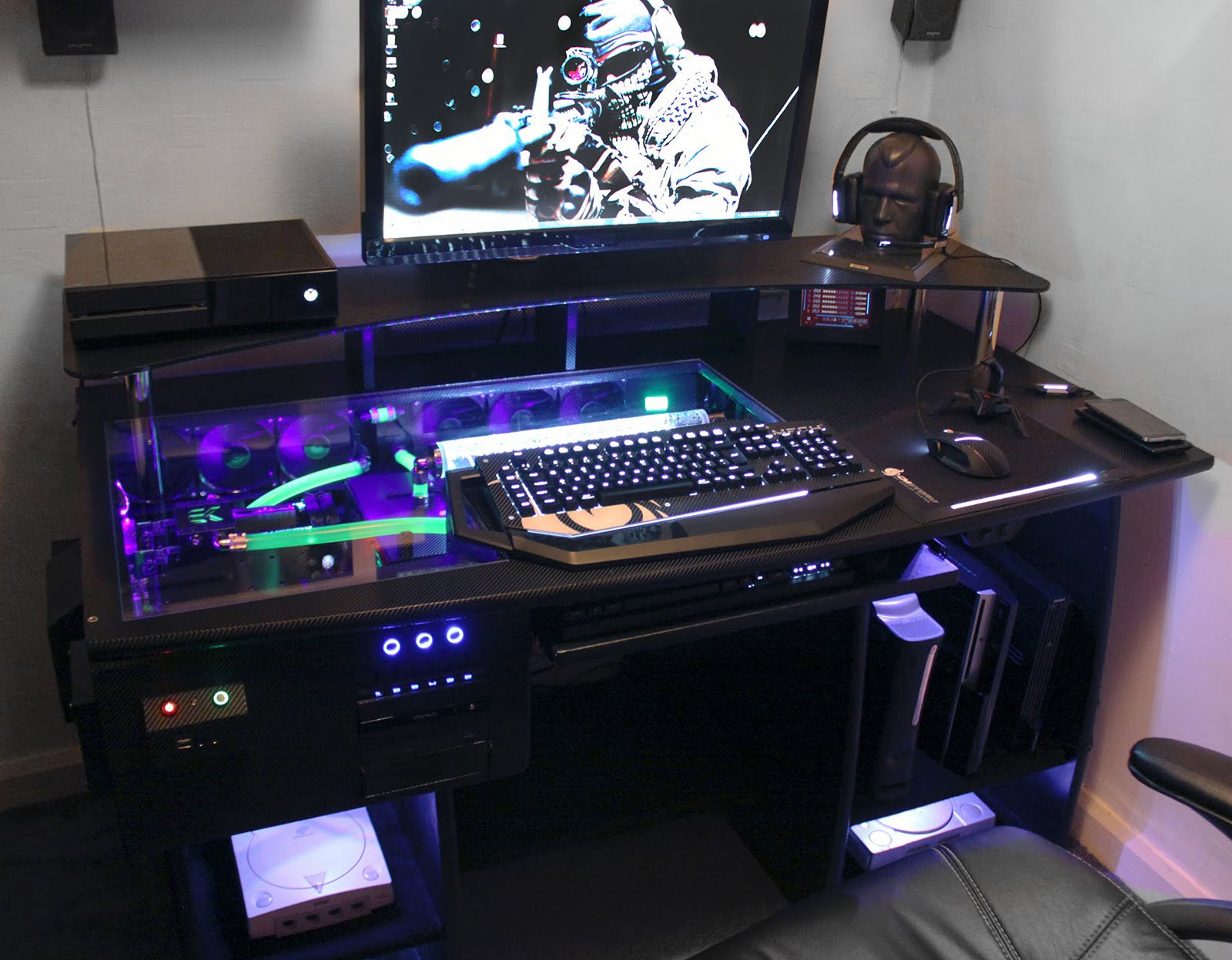Genial Then, You Should Consider Investing In A Gaming Desk. At Bu0026H Photo Video,  You Can Find Computer Desks For All Types Of Gamers In A Wide Variety Of  Colors, ...