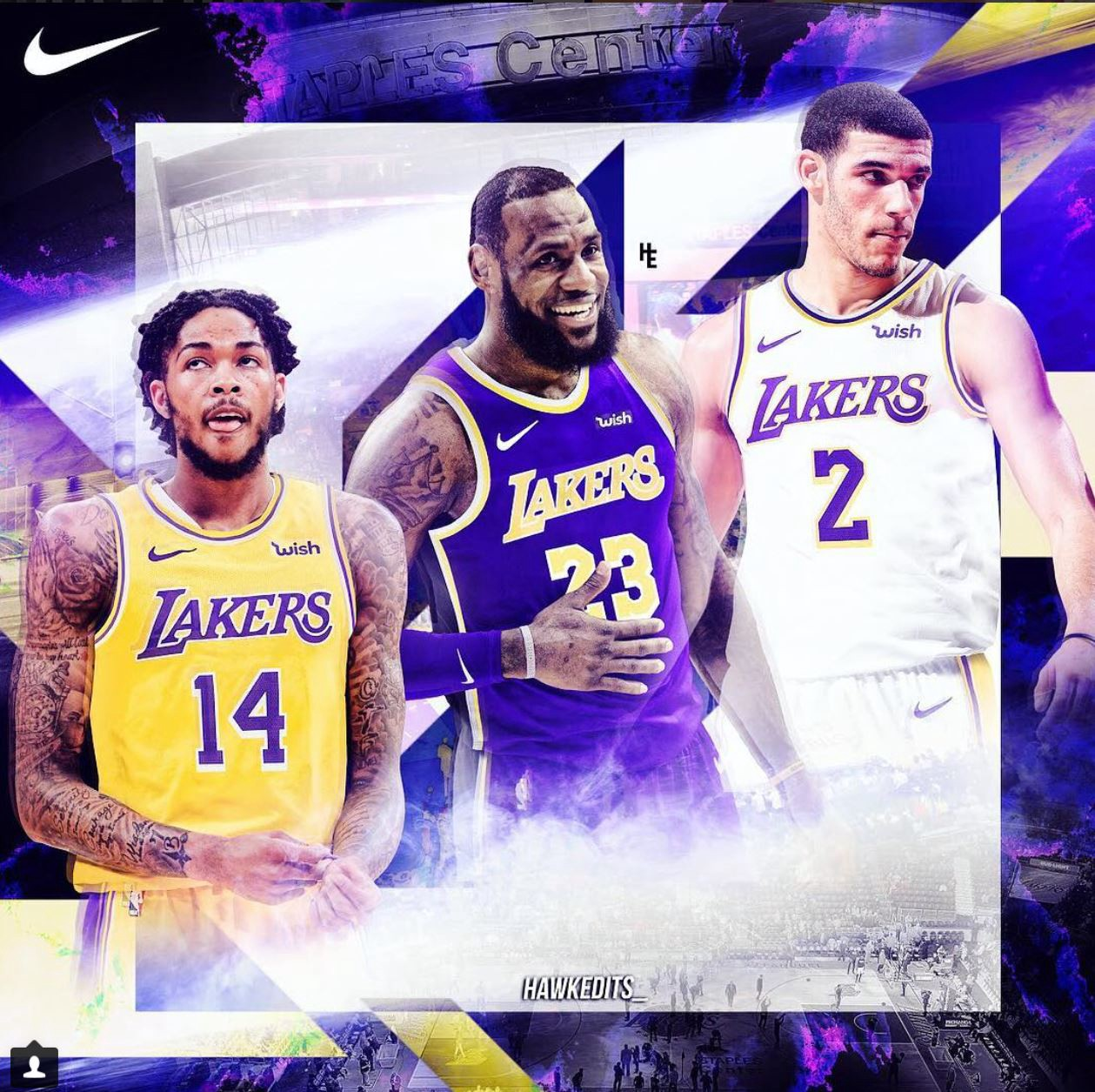 the latest 090f4 f4a8a T-Mobile Arena was rocking and rolling last night as LeBron James and the  young core of the Los Angeles Lakers ran the world champion Golden State  Warriors ...