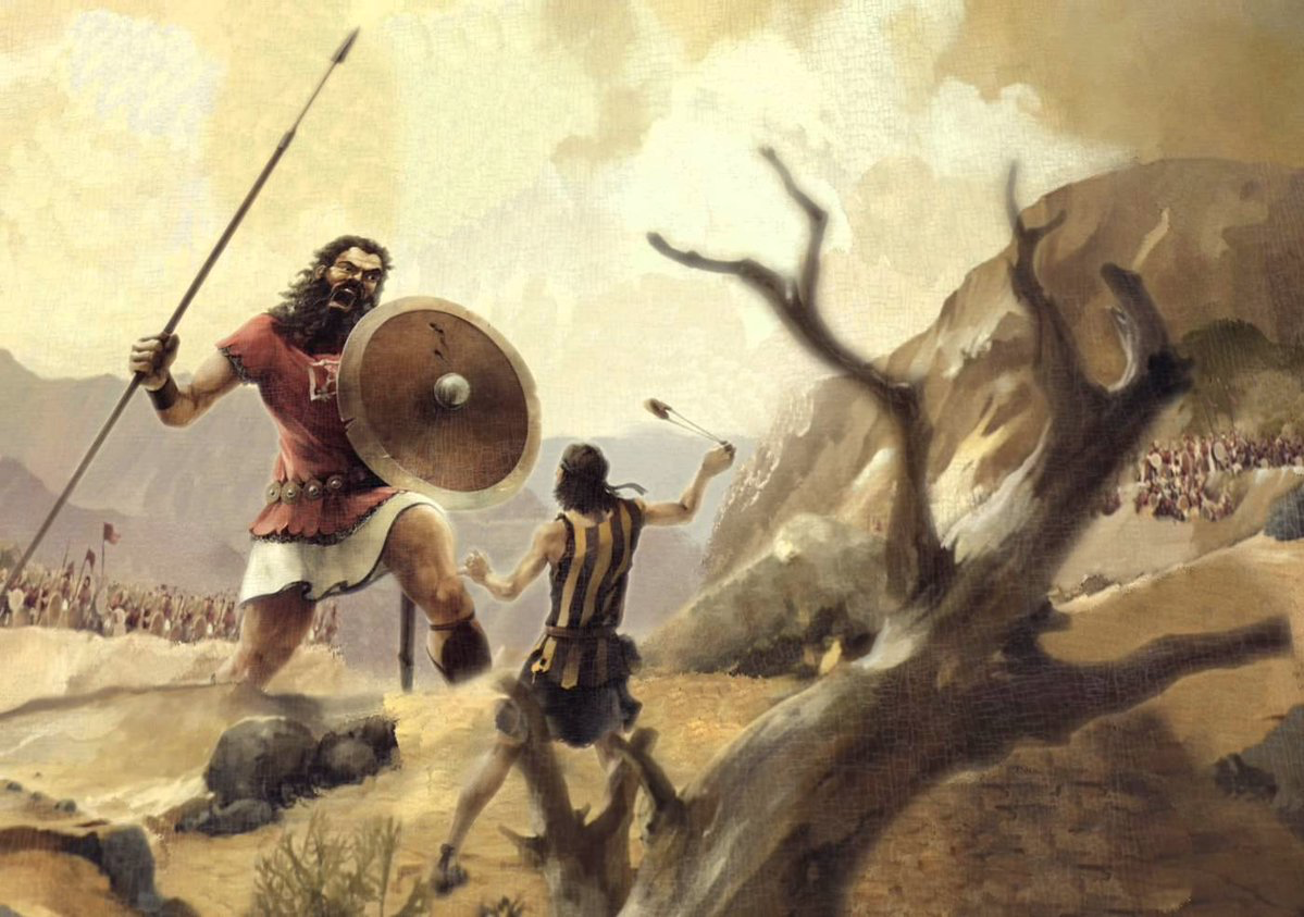 Literary Analysis of David and Goliath