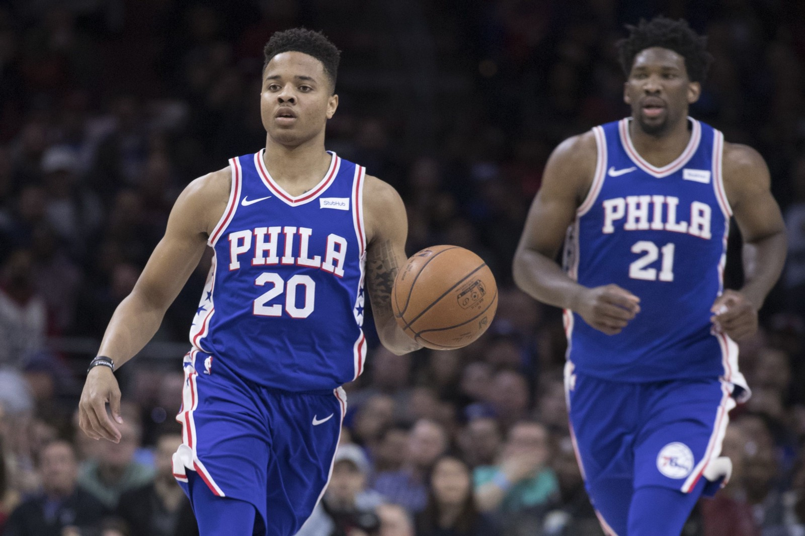 8764038e9f7 Markelle Fultz Returns, Ben Simmons Dominates, and the 76ers Roll the  Nuggets