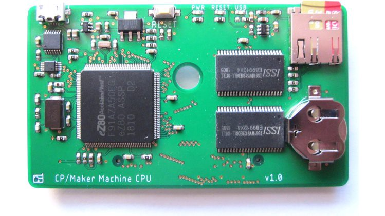 The Credit Card-Size MakerLisp Machine Puts an eZ80 Computer in Your Wallet