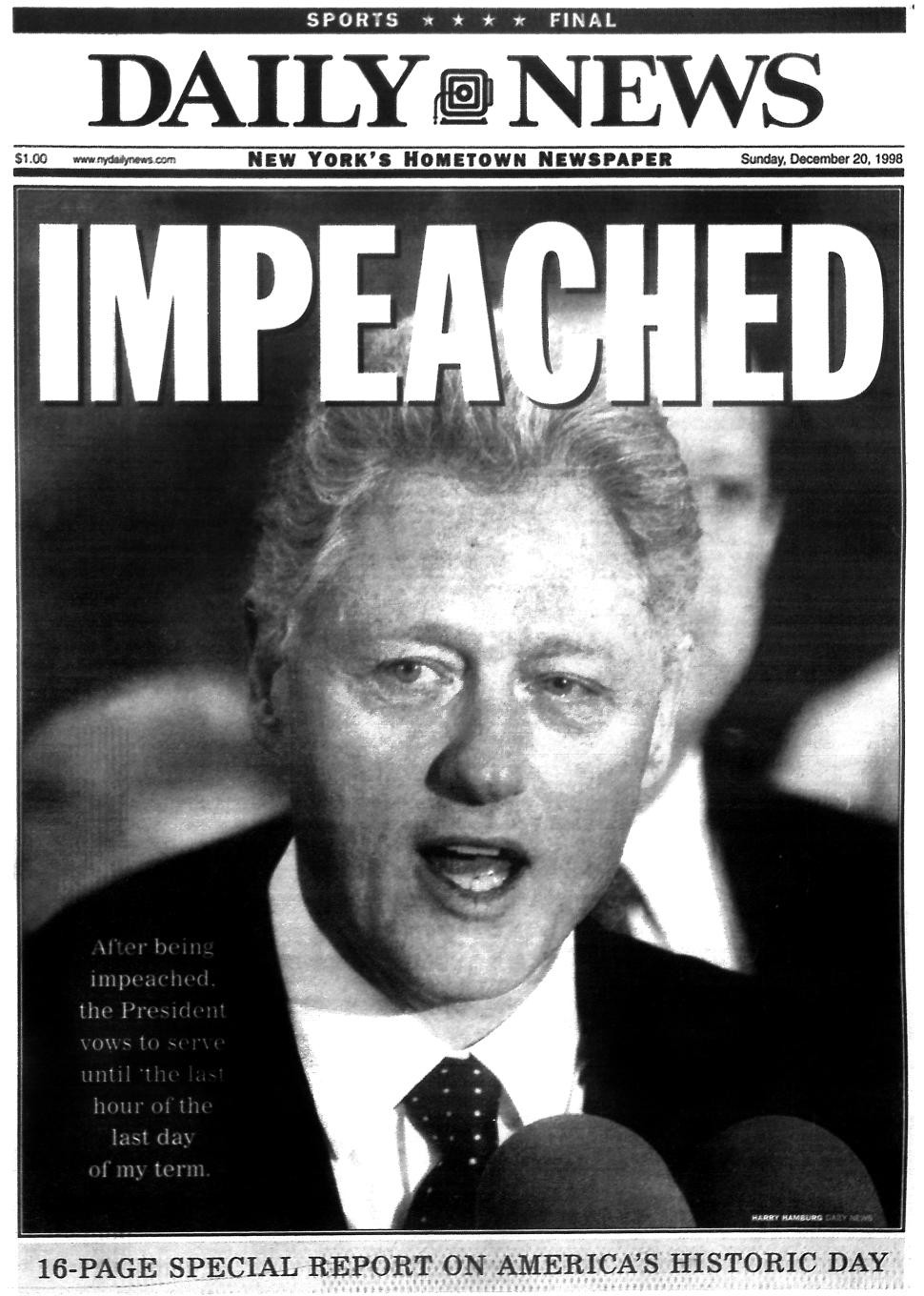 �scandalous� or why the clintonlewinsky scandal is still