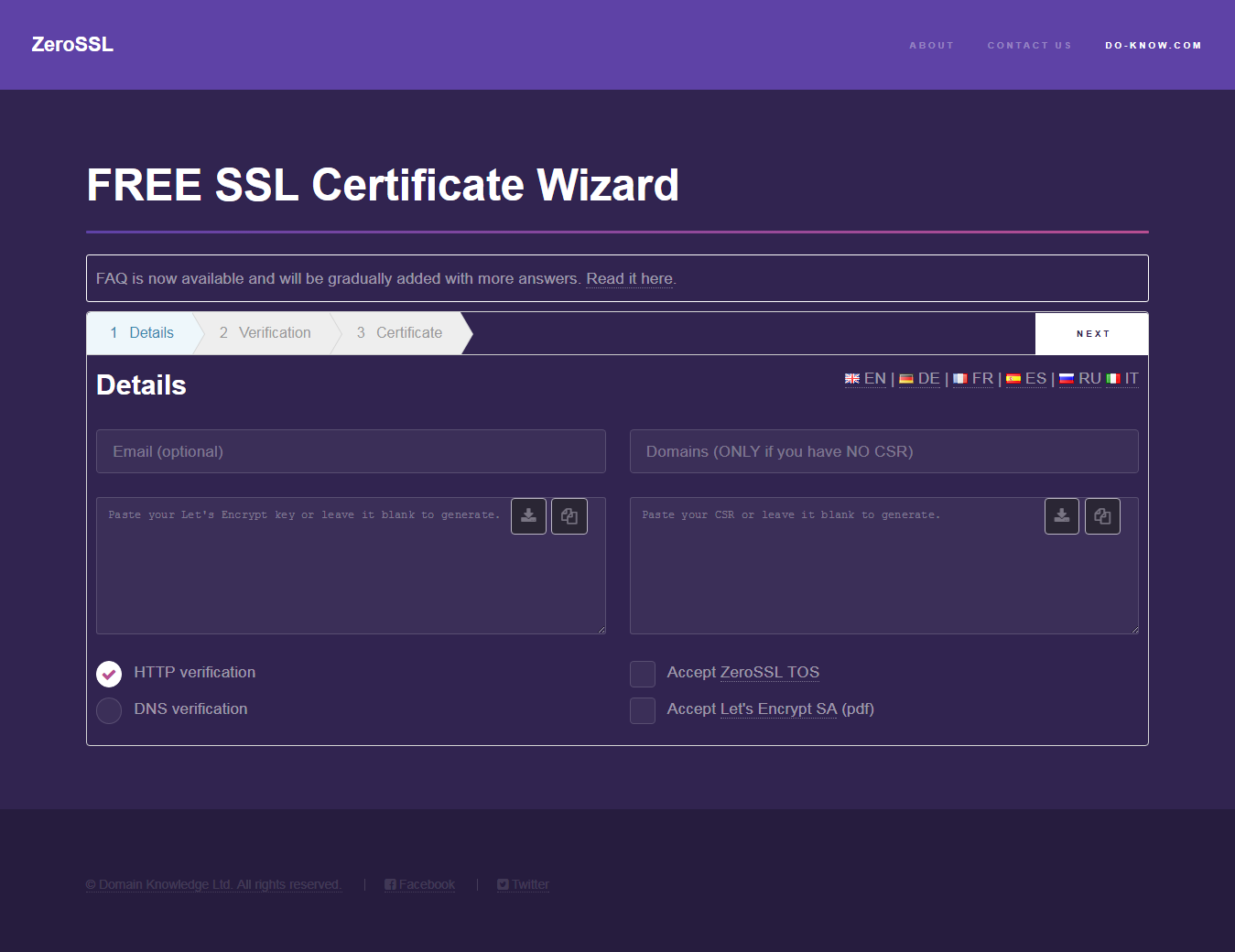 Install Ssl Certificate For Free Lets Encrypt Installation