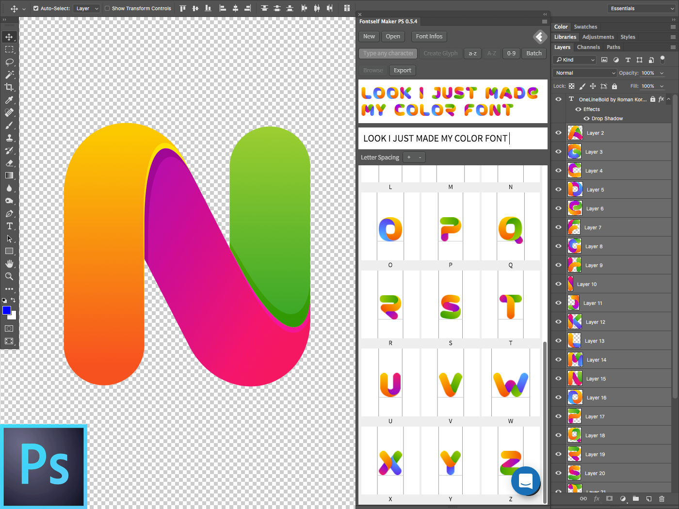 Color fonts! What? When? Where? – Learn a thing or two about ...