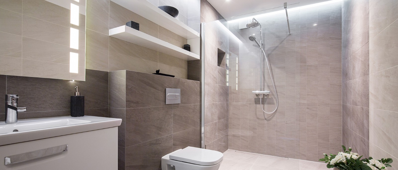 Another Reason To Choose Led Bathroom Lighting Is The Fact That Environment In A Rough On Fixtures Moisture From Hot Bath