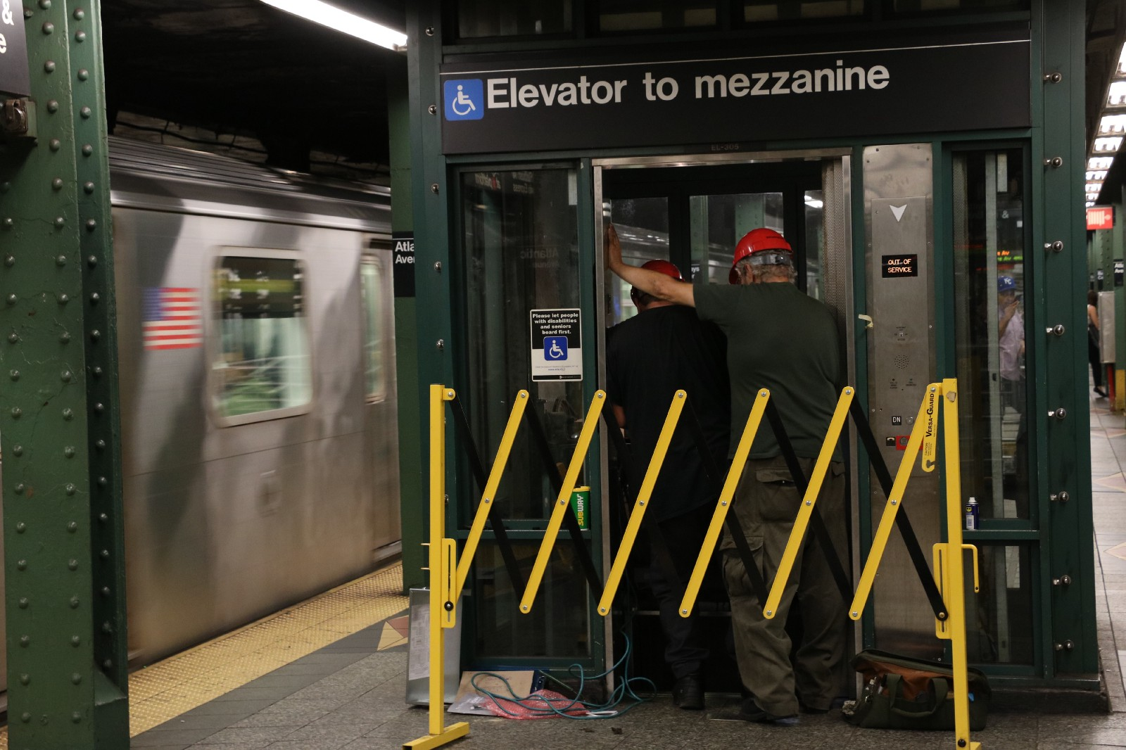 Image result for elevator MTA