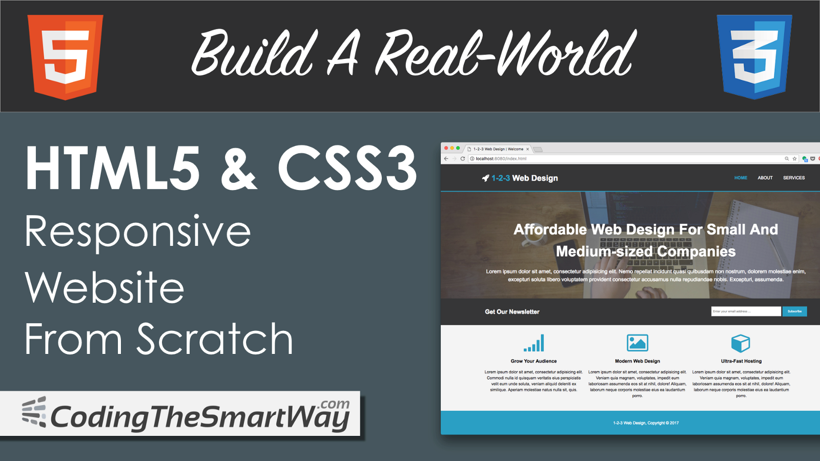 Build a real world html5 css3 responsive website from scratch spiritdancerdesigns Images