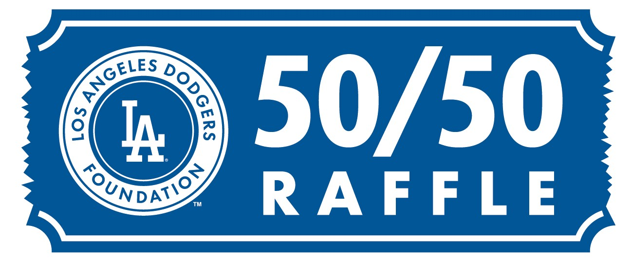 """8b8fd9c6435 """"Get your 50 50 raffle ticket!""""  Fans may purchase 50 50 raffle tickets  when stadium gates open until the end of the sixth inning."""