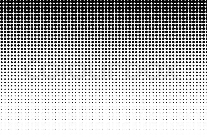 How To Simplify Your Color Palette With Halftones In Adobe Illustrator Beauteous Dot Pattern Illustrator