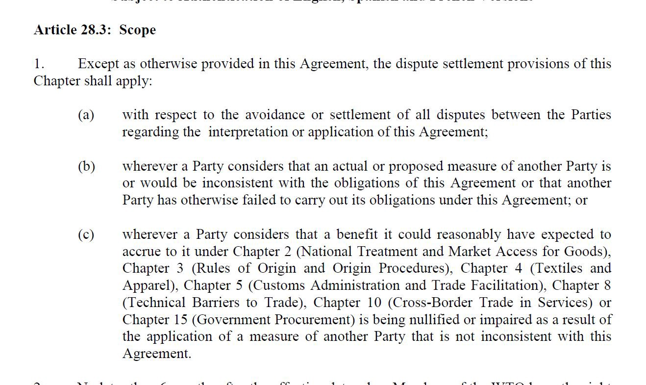 Breaking Release Of Full Text Of Trans Pacific Partnership