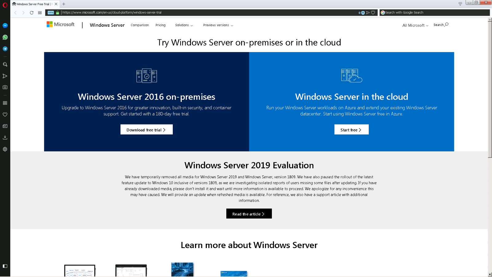 windows server 2019 iso download