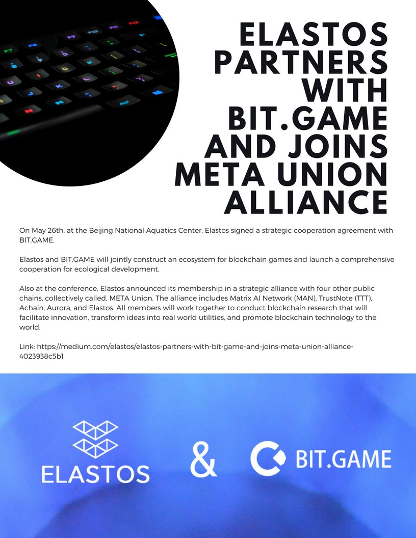 Elastos Weekly Updates 01 June 2018 Medium Switches Save Lives Says Alliance Electrical Is Hiring Full Time And Part Community Members For Technical Non Positions