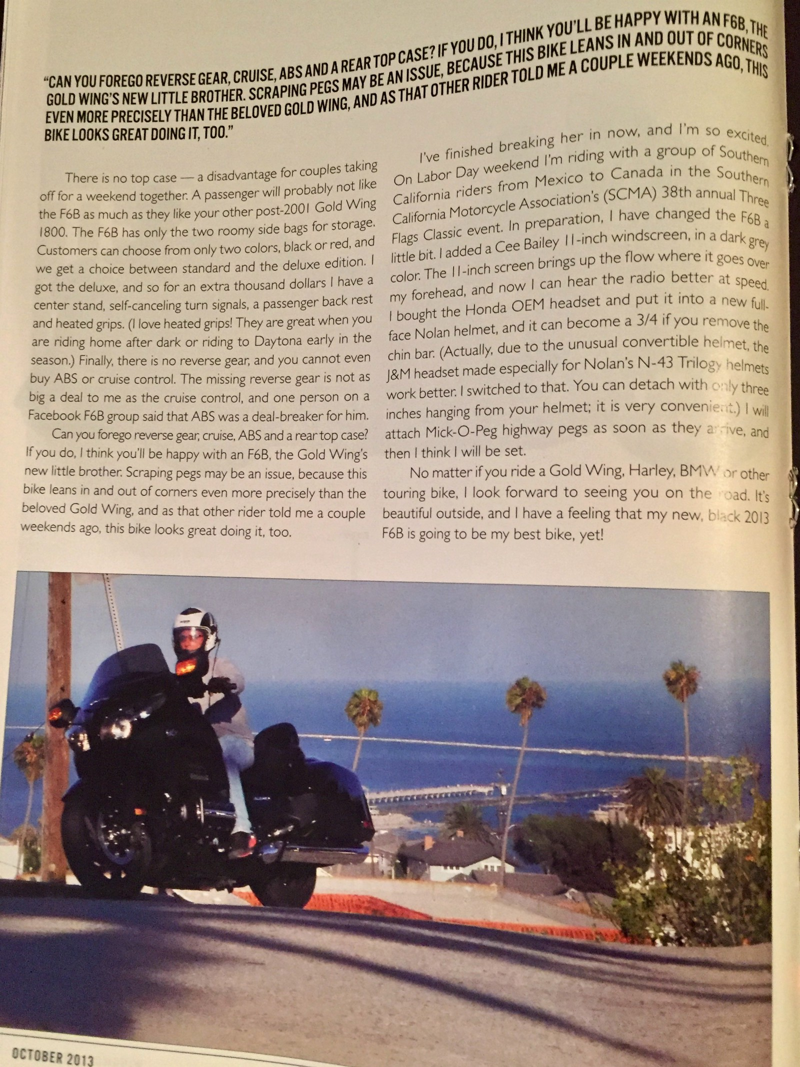 Is There a Cure for Lack-of-Motorcycle Depression? Help!