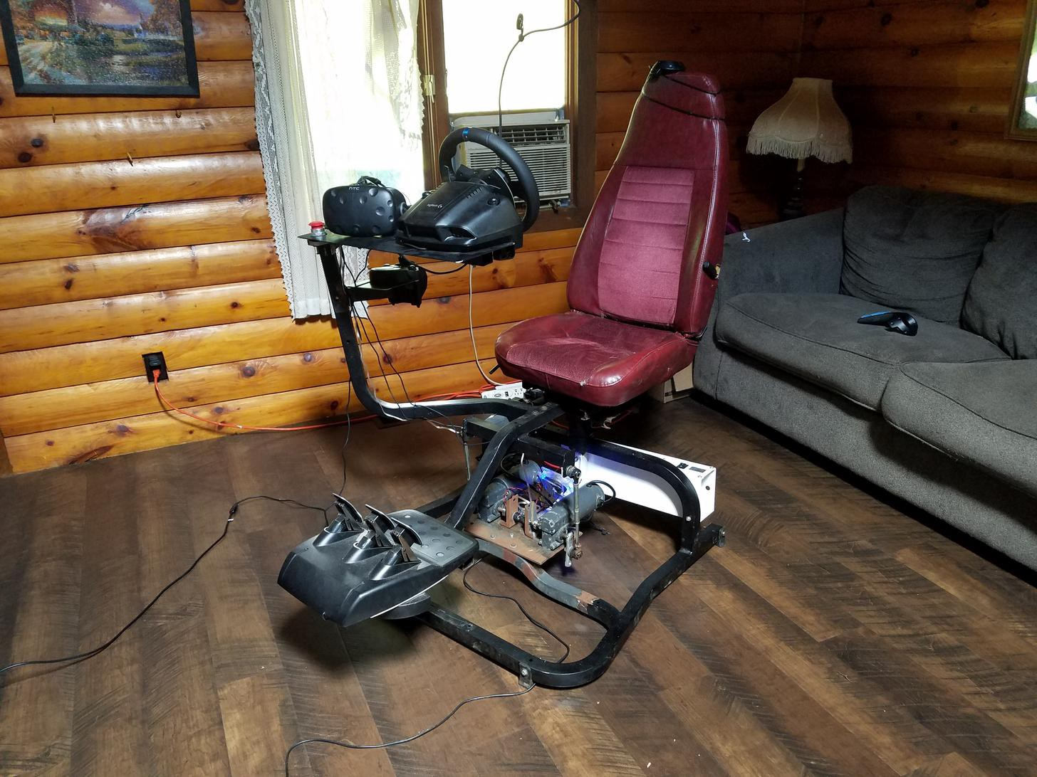 Diy Racing Simulator Is A Repurposed Masterpiece