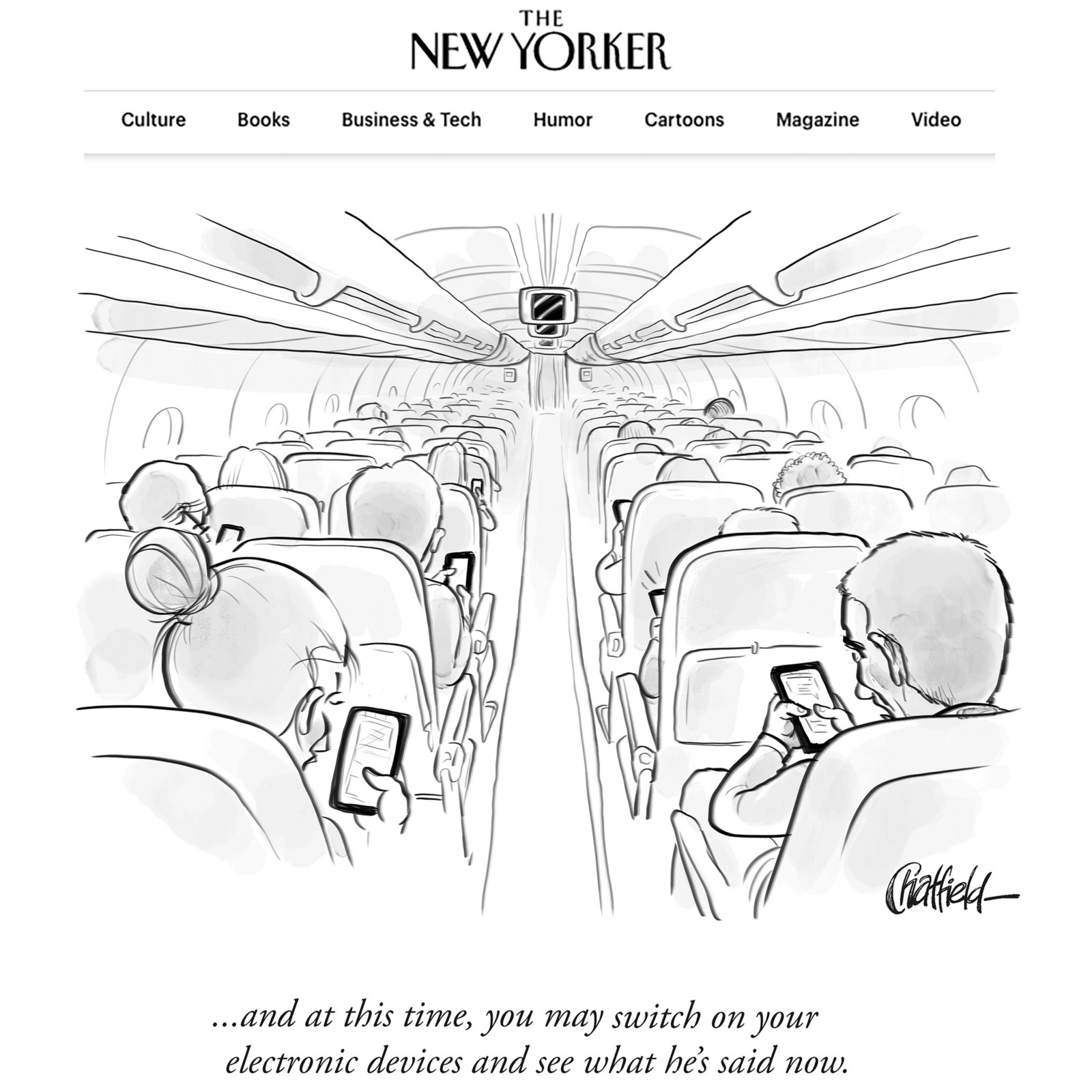 today s new yorker daily cartoon see what he s said now