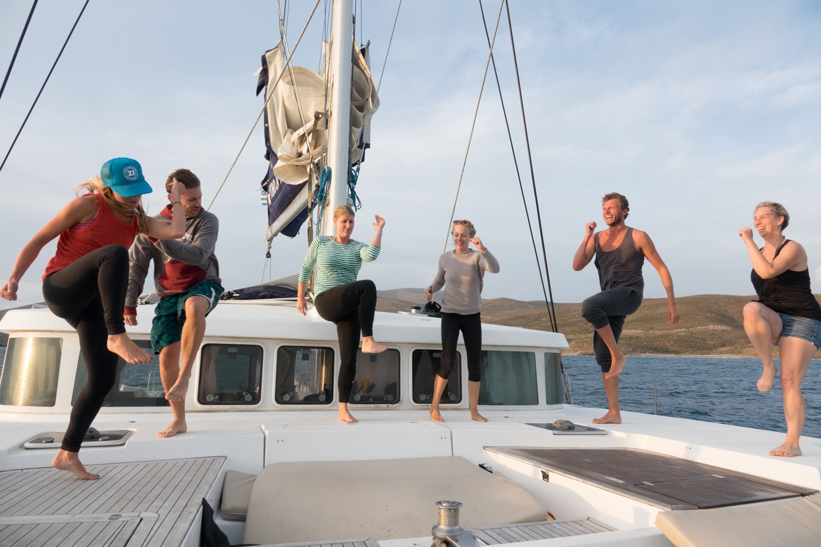 Coboat Disrupted The Work Place And Moved It To A Boat Harness For Sailboat Wanting This Movement Facilitate Connections With Change Makers Projects From All Over World