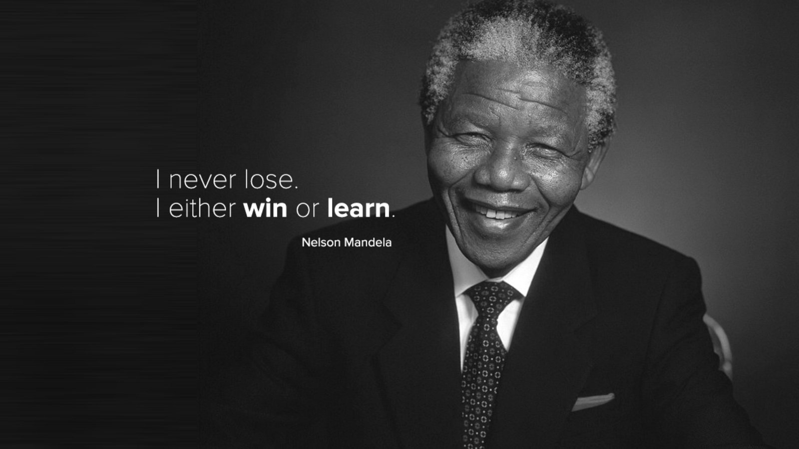 how to win or learn like nelson mandela  rather than simply repeating mistakes