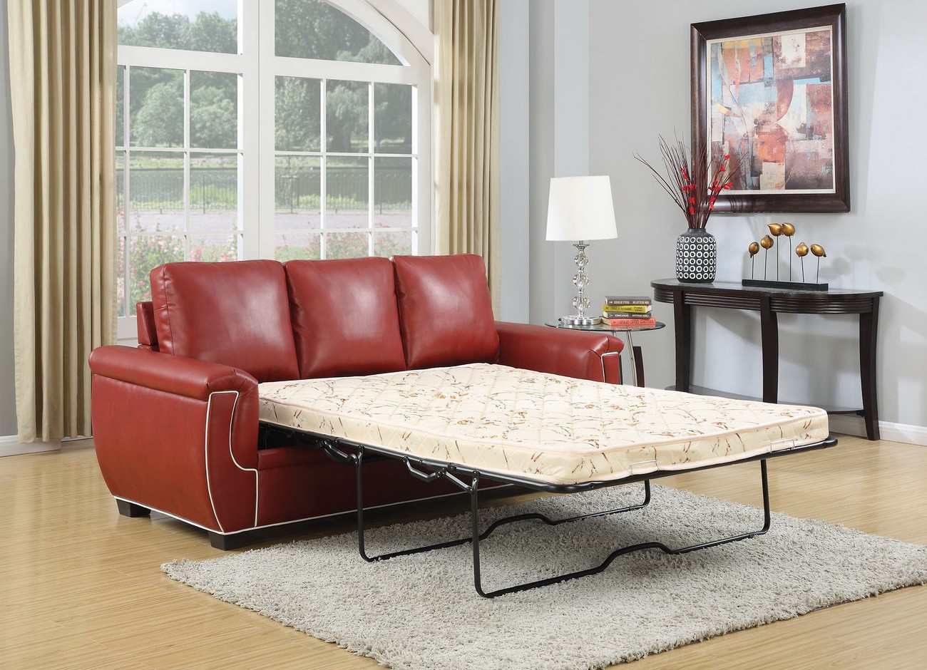 So, Letu0027s Say Stop To This Dilemma And Explore For All The Essentials In  Choosing Leather Or Fabric Sofa Bed.