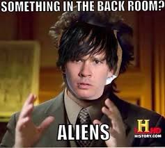 Ancient aliens the origins rta902 social media medium other notable alien enthusiast tom delonge of blink 182 fame fits right into this timeless meme template pronofoot35fo Gallery