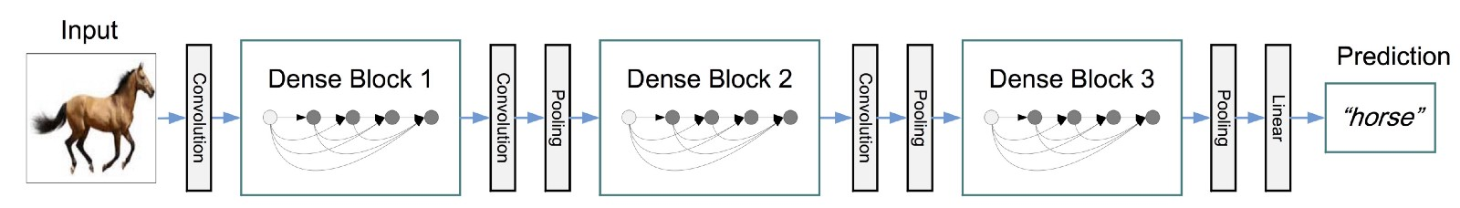 Note of the DenseNet (contains TensorFlow and PyTorch