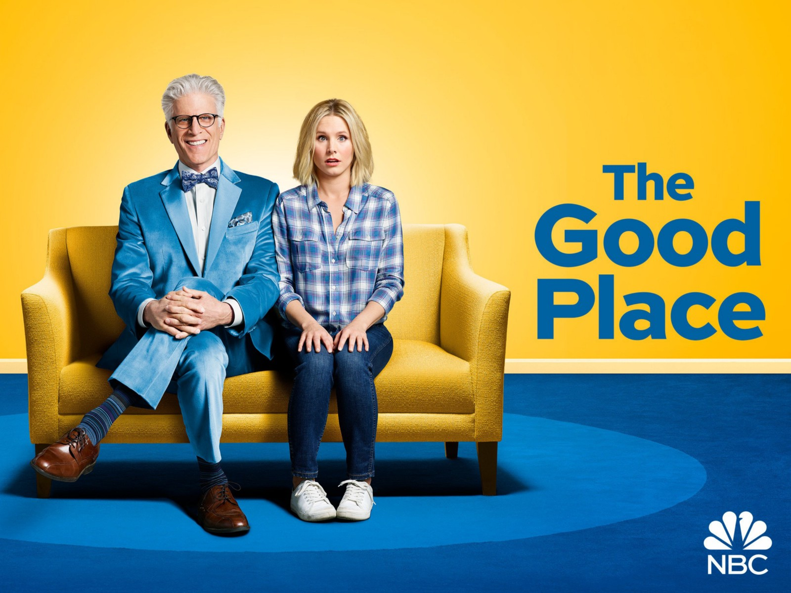 Nbc S The Good Place Is At First Glance A Show About Colorful Whimsical But Non Specific Afterlife Utopia For Those Who Lived Life