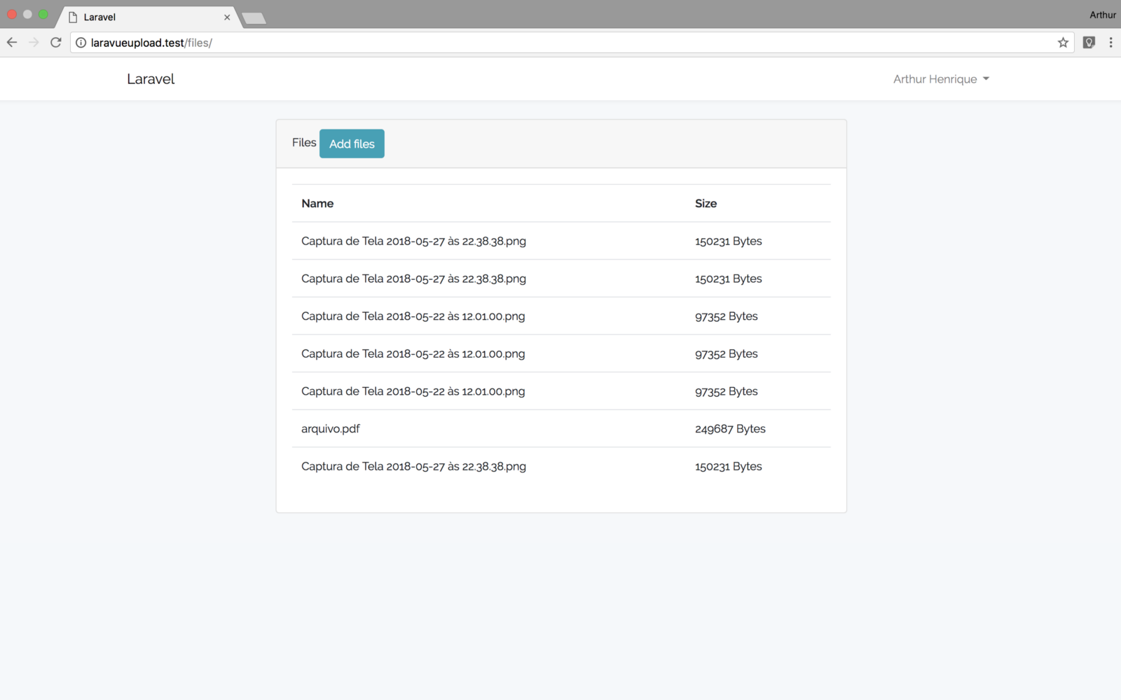 File upload with Laravel and VueJS