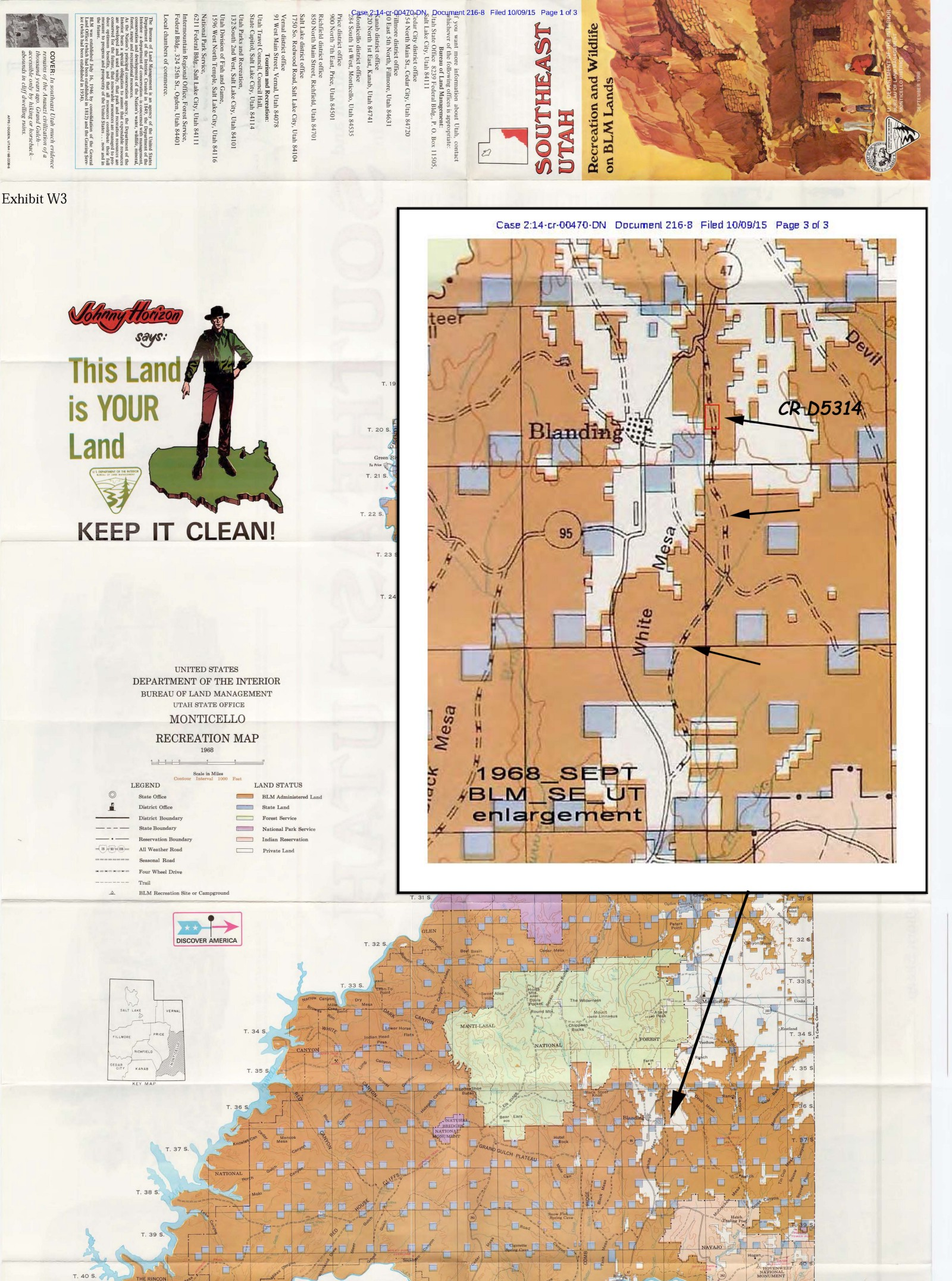 County Utah Map.The Federal Government Lied About Who Owns Recapture Canyon Road In