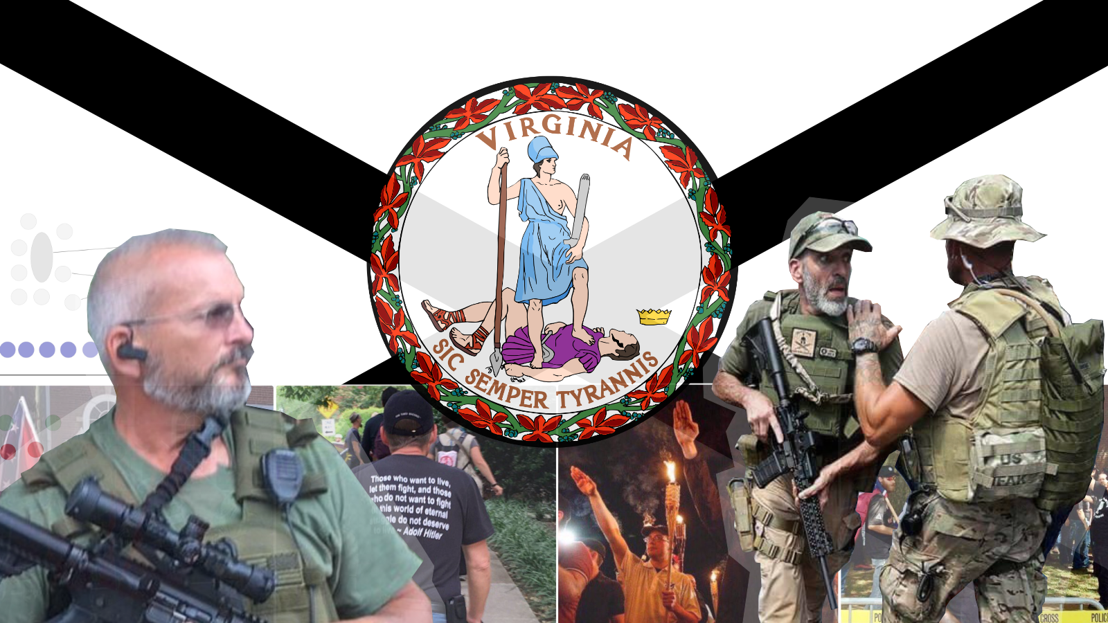 Militias and Militant Groups at #UniteTheRight: Buffer Zones and ...