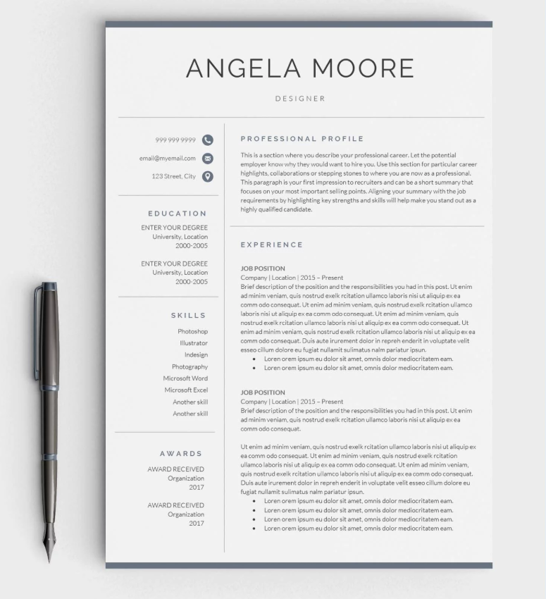 how to create a standout digital marketing resume brainstation