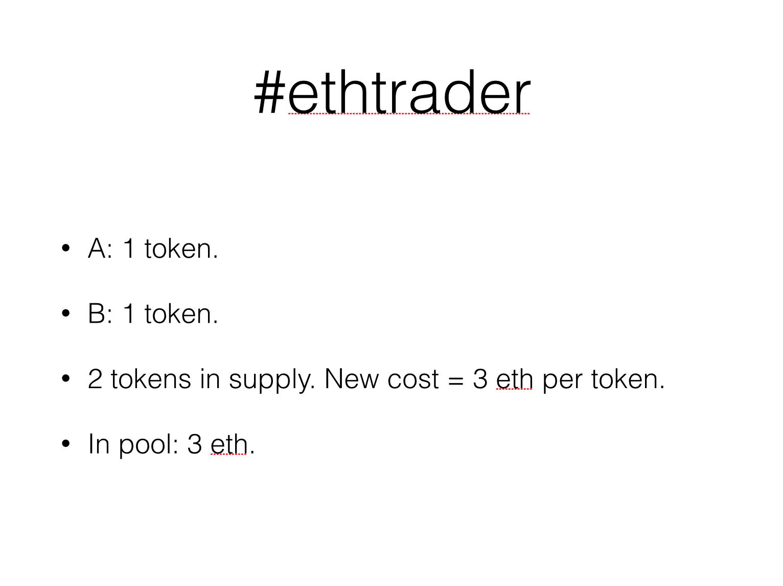 Person C Is Also Interested And Buys In Having To Pay 3 Eth For The Token Now