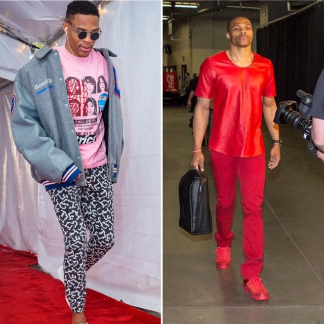 f3356233b7a6 Russell Westbrook. Russell has to be the favorite to be the first athlete  to wear a romper based on his enthusiasm for pushing the envelope ...