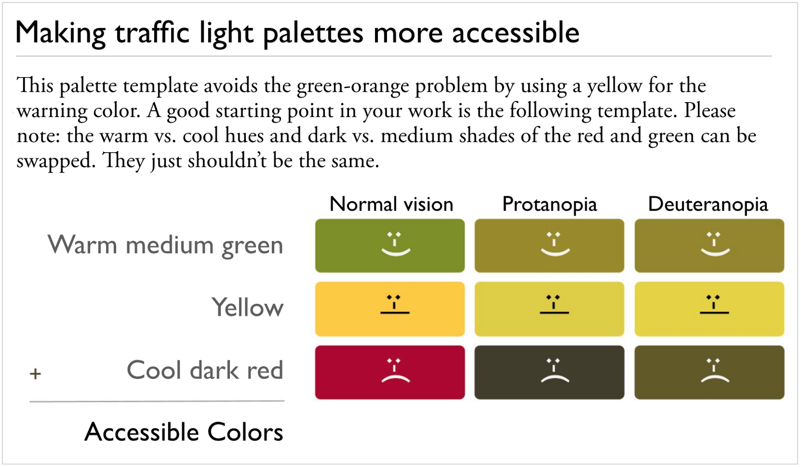 Notice How Light Vs Dark And Warm Cool Diffeiate The Red Green Your Yellow Should Be Significantly Lighter Than Either Or