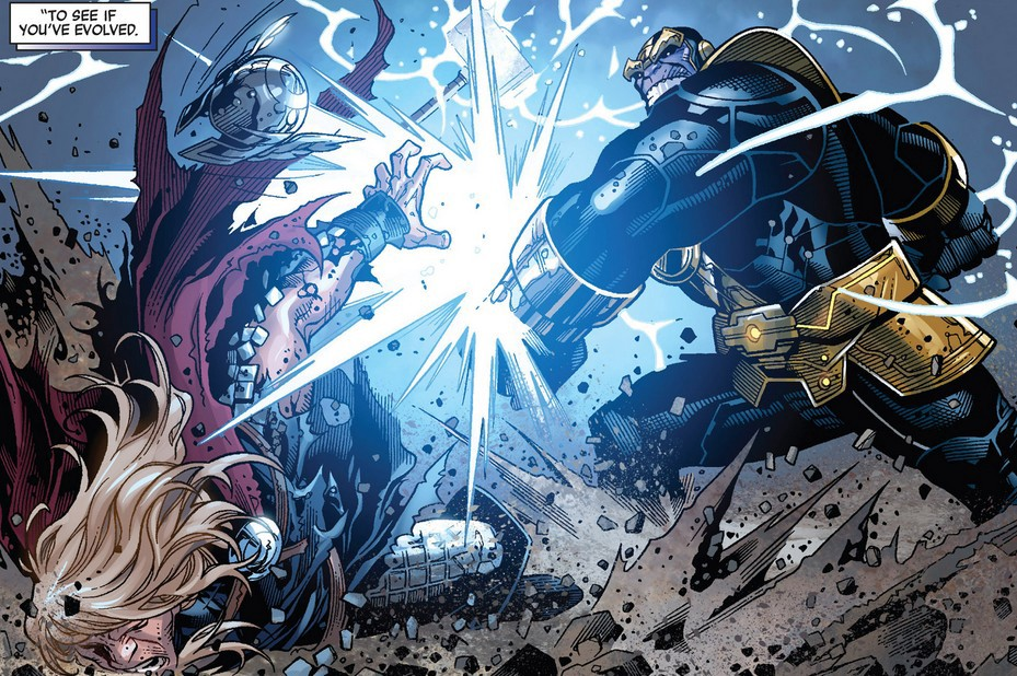 Could Thanos Defeat The All Father Odin Noteworthy The Journal