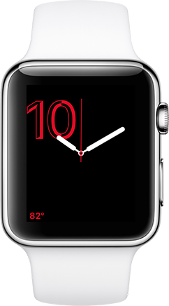 Watch face for attending classy events