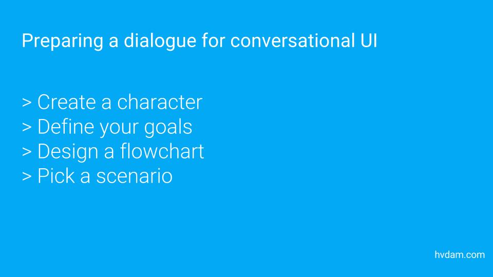 How to write winning dialogue for conversational ui preparations for writing dialogue for conversational ui ccuart Gallery
