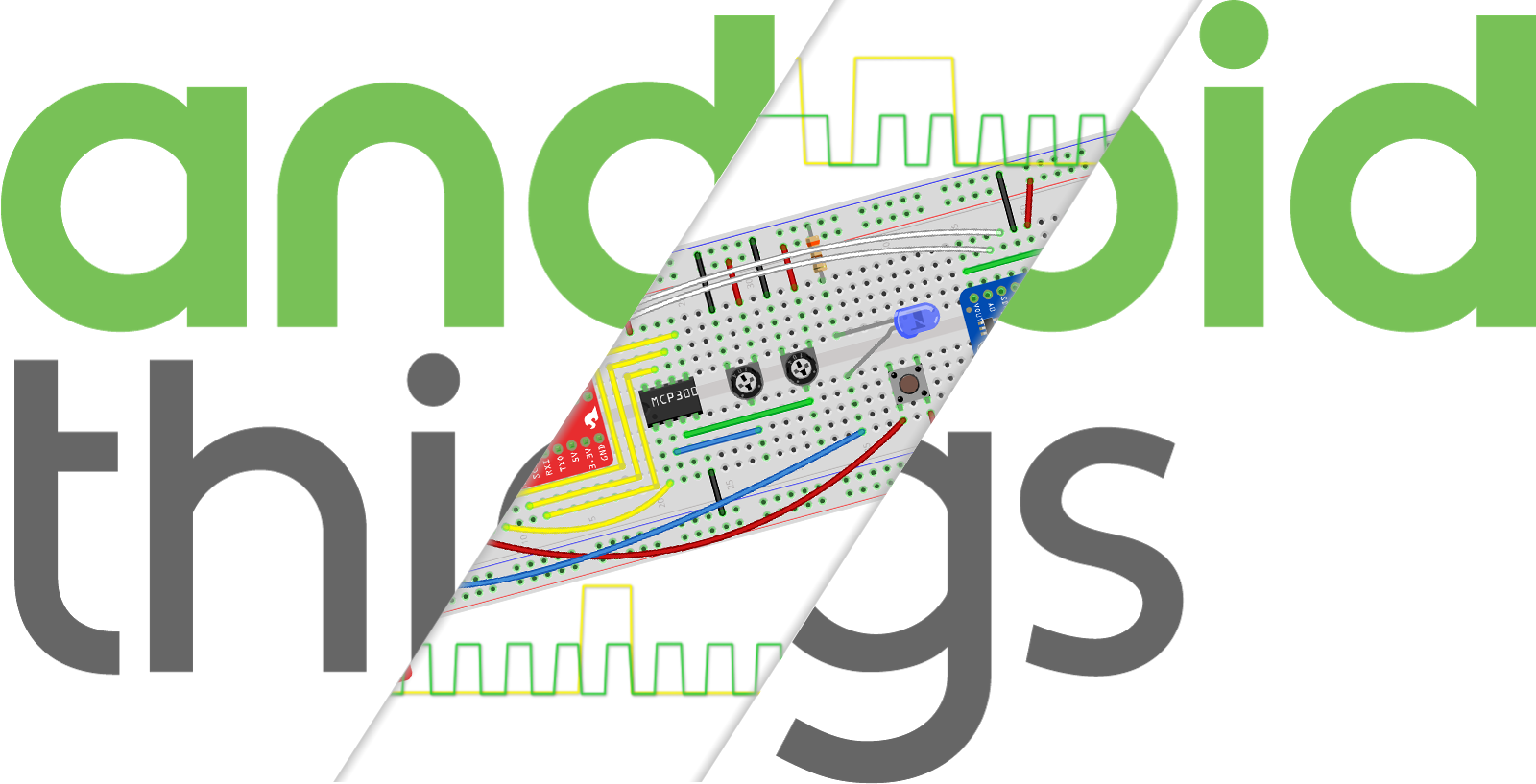 Android Things Analog Io And Pwm Spi Ic Tutorial With The