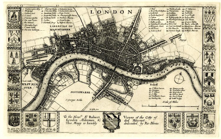 Map Of London 1600.Drawing The Map Of Every City Chaz Hutton Medium