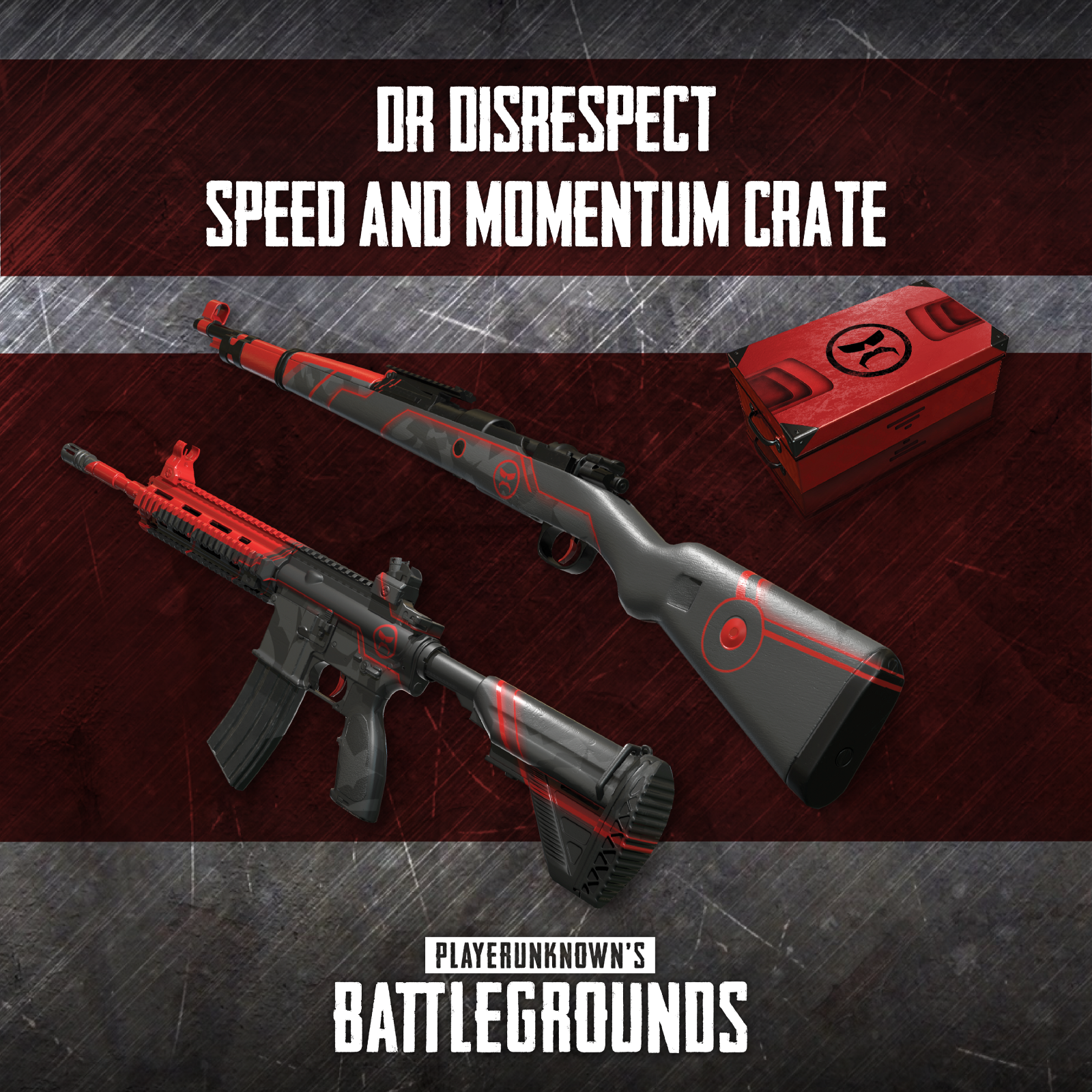 Drdisrespects Speed Momentum Crate Will Contain Exclusive M And Kark Skins