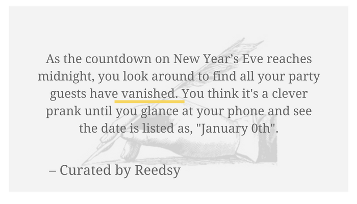 New Year\'s Resolution: More Writing Prompts! – Reedsy – Medium