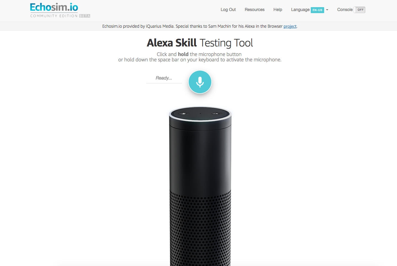 Prototyping Voice Interface with Alexa – Chatbots Life